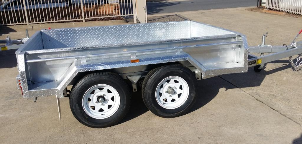 Heavy duty Galvanised Trailers